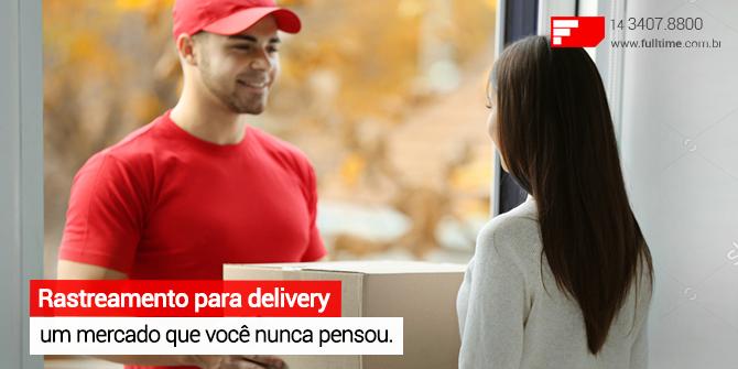 rastreamento para empresas delivery